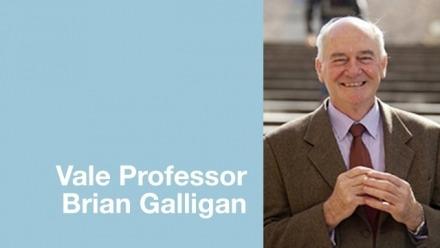 Professor Brian Galligan, 1945-2019