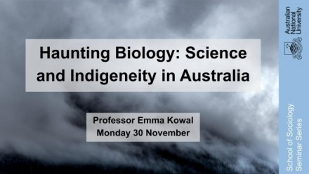 Haunting Biology: Science and Indigeneity in Australia