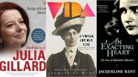 Jacqueline Kent: Biography - some things they don't tell you ...