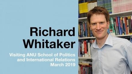 Timely visit from Brexit expert Associate Professor Richard Whitaker