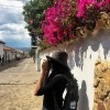 a friend of Eve capturing the local beauty in the colonial town of Villa de Leyva